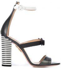 Aquazzura - Very Downtown sandals - women - Calf Leather - 6, 7.5, 8, 9, 9.5 - BLACK