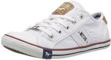 Mustang 1099-302, Sneakers da donna, Bianco (1 Weiß), 41 EU