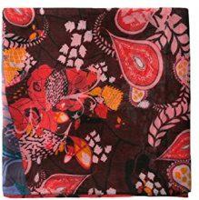 Desigual Foulard_california Fresh, Sciarpa Donna, Nero (Black 2000), Taglia unica (Taglia Produttore: U)
