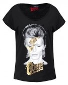ONLDAVID - T-shirt con stampa - black