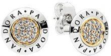 Pandora Orecchini a perno Donna argento - 296230CZ