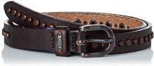 Hilfiger Denim Studed Belt 2.0, Cintura Donna, Marrone (Testa di Moro), 90 cm (Taglia Produttore: 90)