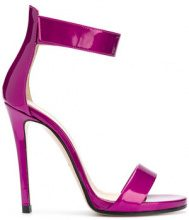 Marc Ellis - Sandali metallici - women - Leather/Patent Leather - 37, 38, 39, 40 - PINK & PURPLE