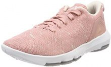 Reebok BS9478, Scarpe da Nordic Walking Donna, Rosa (Chalk Pale Pink/Powder Grey/White), 39 EU