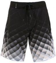 Osklen - printed shorts - men - Polyester/Spandex/Elastane - 40, 44 - Nero