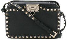 Valentino - Borsa a spalla 'Rockstud' - women - Cotone/Leather/metal - One Size - Nero