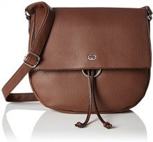 Gerry Weber Flash Over Shoulderbag Lhf - Borse a tracolla Donna, Braun (Cognac Old), 5.5x26x28 cm (B x H T)