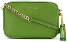 Michael Michael Kors - Ginny crossbody bag - women - Leather - OS - GREEN