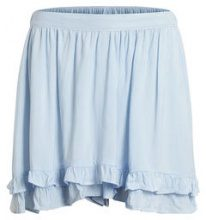 OBJECT COLLECTORS ITEM Loose Fit, Ruffles Detailed Shorts Women White