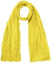 United Colors of Benetton Scarf, Foulard Donna, Giallo (Yellow 95r), Taglia unica