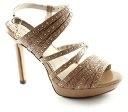 LAURA BIAGIOTTI 920 beige scarpe donna sandali tacco alto plateaux