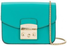 Furla - mini Metropolis crossbody bag - women - Leather - OS - GREEN