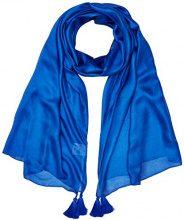 Pennyblack Tableau, Sciarpa Donna, Blu (Blu Cina 3), Medium (Taglia produttore:M)