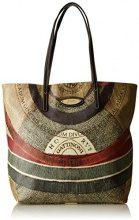 Gattinoni Gacpu0000106, Borsa a Spalla Donna, Multicolore (Classico), 10x35x40 cm (W x H x L)