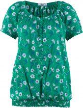Blusa a manica corta (Verde) - bpc bonprix collection