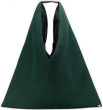 - Mm6 Maison Margiela - Triangle Handle tote bag - women - Polyester - Taglia Unica - Verde