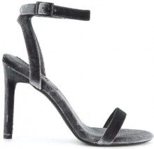 Senso - Tyra I sandals - women - Velvet/Synthetic Resin/Kid Leather - 35, 36, 37, 38, 39, 40, 41, 42 - GREY