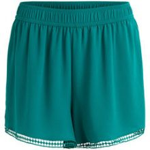 OBJECT COLLECTORS ITEM Lace Detail - Shorts Women Green