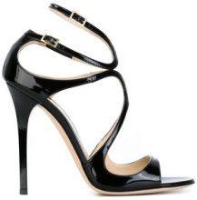 Jimmy Choo - 'Lance' sandals - women - Patent Leather/Leather - 34, 35, 36, 36.5, 37, 37.5, 38, 38.5, 39, 39.5, 40, 40.5, 42 - Nero