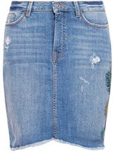 edc by Esprit 058cc1d002, Gonna Donna, Multicolore (Blue Light Wash 903), 40 (Taglia Produttore: 34)