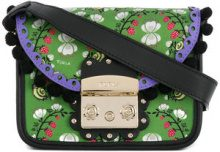 Furla - Borsa a tracolla 'Metropolis Serenissima' - women - Calf Leather/Polyester - One Size - GREEN