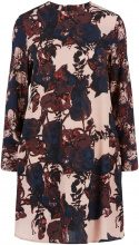 Y.A.S Floral Long Sleeved Dress Women Blue