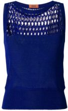 Missoni - Top di maglia - women - Cotton - 40, 42, 44 - BLUE
