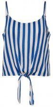 ONLY Striped Singlet Women Blue