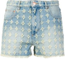 Isabel Marant Étoile - Shorts in denim a vita alta - women - Cotone - 38, 36, 40, 34 - BLUE