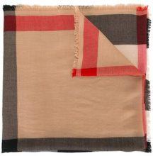 Burberry - Sciarpa motivo house check - women - Cashmere - OS - NUDE & NEUTRALS