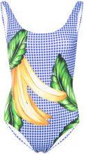 Onia - Kelly swimsuit - women - Nylon/Spandex/Elastane - XS, S, L, XL - Blu