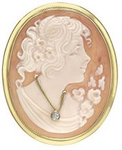 Carissima Gold - Spilla da Donna in Oro Giallo 9K (375), Oro Giallo