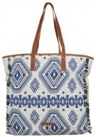 Shopping bag - muddy lake blue