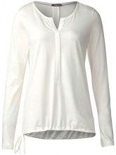Street One QR Moni, T-Shirt Donna, Weiß (off White 20108), 42 (Taglia Produttore: 36)