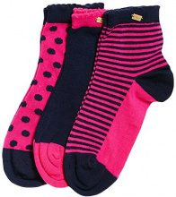 Superdry G31008BP, Calze Sportive Donna, Multicolore (Pink Navy Pink Dot), One Size (Taglia produttore:OS)
