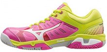 Mizuno Wave Exceed SL AC WOS, Scarpe da Tennis Donna, Rosa (Electric/White/Limepunch), 38 EU