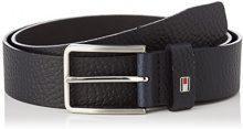 Tommy Hilfiger Grain Leather Belt 3.5, Cintura Uomo, Blu (Tommy Navy 413), 6 (Taglia Produttore: 90|#90|#674)