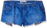 New Look - LI Hotpant Drop Pocket, Jeans da donna