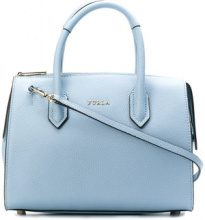 Furla - Pin tote - women - Leather - OS - BLUE