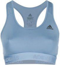 Adidas - Climalite sports bra top - women - poliestere riciclato/Spandex/Elastane - XS, S, M, L - BLUE