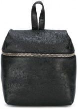Kara - Zaino con zip - women - Leather - OS - Nero