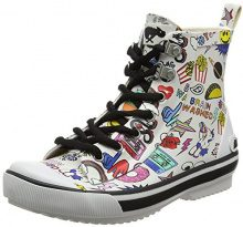Rocket Dog Rainy, Sneaker Donna, Multicolour (White), 40 EU