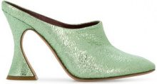 Sies Marjan - Mules a punta - women - Leather - 36, 37, 39, 40 - GREEN