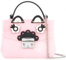 Furla - mini Metropolis cross body bag - women - Leather/PVC/metal - One Size - Rosa & viola