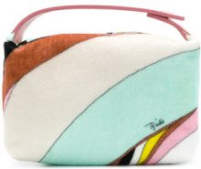 Emilio Pucci - Trousse stampata - women - Cotton - One Size - MULTICOLOUR