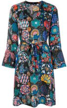 Ps By Paul Smith - Vestito con cintura - women - Polyester/Cupro - 40, 42 - Blu