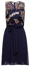 ESPRIT Collection 038eo1e019, Vestito Elegante Donna, Blu (Navy 400), 40 (Taglia Produttore: 34)