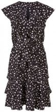 Y.A.S Shortsleeved Dotted Mini Dress Women Black