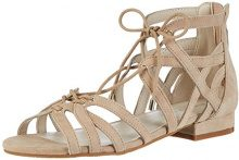 Kenneth Cole Valerie, Sandali con Zeppa Donna, Marrone (Almond 199), 36 EU