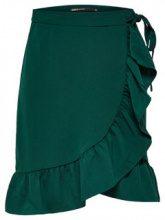 ONLY Wrap Skirt Women Green